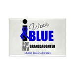 IWearBlue Granddaughter Rectangle Magnet (100 pack