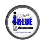 IWearBlue Granddaughter Wall Clock