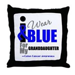 IWearBlue Granddaughter Throw Pillow