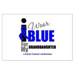 IWearBlue Granddaughter Large Poster