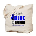 IWearBlue Friend Tote Bag
