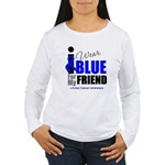 IWearBlue Friend Women's Long Sleeve T-Shirt