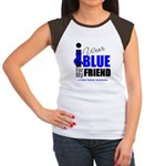 IWearBlue Friend Women's Cap Sleeve T-Shirt