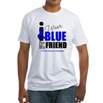 IWearBlue Friend Fitted T-Shirt