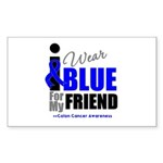 IWearBlue Friend Rectangle Sticker 50 pk)