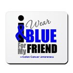 IWearBlue Friend Mousepad
