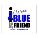 IWearBlue Friend Small Poster