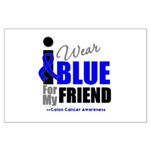 IWearBlue Friend Large Poster