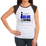 IWearBlue Father Women's Cap Sleeve T-Shirt