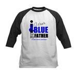 IWearBlue Father Kids Baseball Jersey