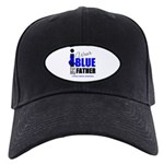 IWearBlue Father Black Cap