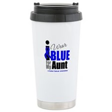 IWearBlue Aunt Ceramic Travel Mug