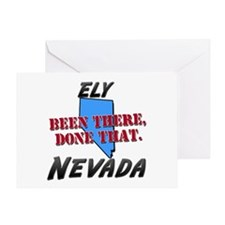 ely nevada - been there, done that Greeting Card