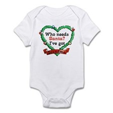 Who Needs Santa Got Grandma Infant Bodysuit