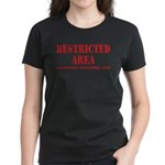Restricted Area Women's Dark T-Shirt