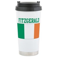 Fitzgerald (ireland flag) Ceramic Travel Mug