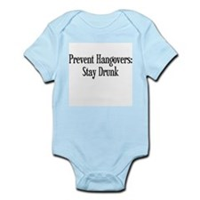 Prevent Hangovers Infant Bodysuit