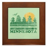 Minnesota Framed Tile