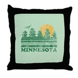Minnesota Throw Pillow