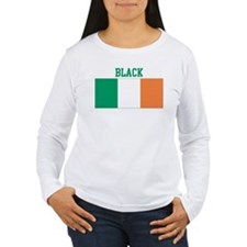 Black (ireland flag) T-Shirt