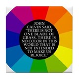John Calvin-Color Tile Coaster