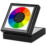 John Calvin-Color Keepsake Box
