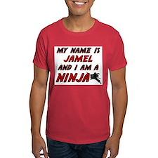 my name is jamel and i am a ninja T-Shirt