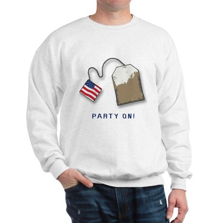 PARTY ON! Tea Party Sweatshirt
