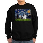 Starry / Lhasa Apso #2 Sweatshirt (dark)