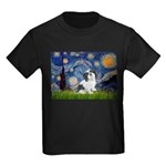 Starry / Lhasa Apso #2 Kids Dark T-Shirt