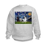 Starry / Lhasa Apso #2 Kids Sweatshirt