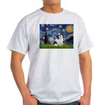 Starry / Lhasa Apso #2 Light T-Shirt
