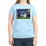 Starry / Lhasa Apso #2 Women's Light T-Shirt
