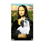 Mona / Lhasa Apso #2 Sticker (Rectangle)
