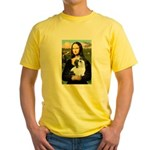 Mona / Lhasa Apso #2 Yellow T-Shirt