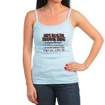 Dads Rules for Daughters Dating Jr. Spaghetti Tank