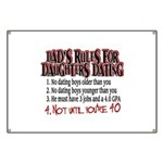 Dads Rules for Daughters Dating Banner