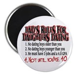 Dads Rules for Daughters Dating Magnet