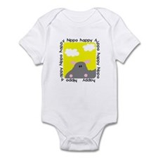 Hippo Happy Infant Bodysuit