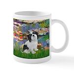Lilies / Lhasa Apso #2 Mug