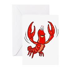 Crawfish Greeting Cards (Pk of 20)
