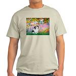 Garden / Lhasa Apso #2 Light T-Shirt