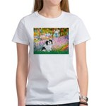 Garden / Lhasa Apso #2 Women's T-Shirt