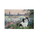 Seine / Lhasa Apso #2 Rectangle Magnet (10 pack)