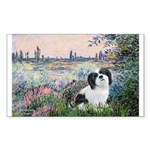 Seine / Lhasa Apso #2 Sticker (Rectangle 50 pk)