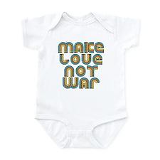 Make Love Not War Infant Bodysuit