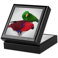 Eclectus Pair Keepsake Box