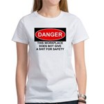 Danger Sign Women's T-Shirt
