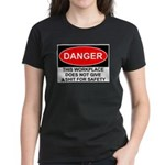 Danger Sign Women's Dark T-Shirt