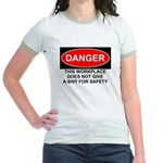 Danger Sign Jr. Ringer T-Shirt